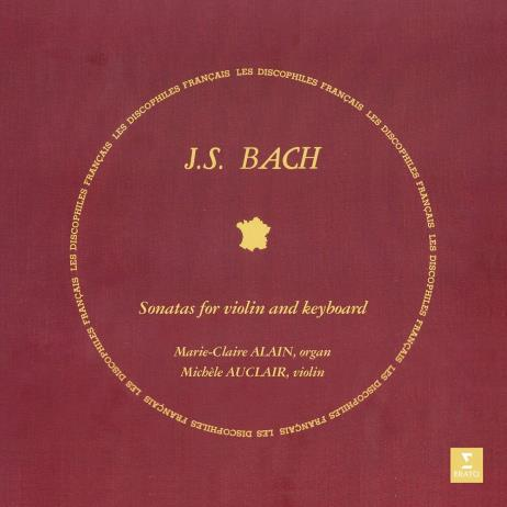 JS Bach: Sonatas for Violin and Keyboard [180g LP, Limited Edition, Gatefold]