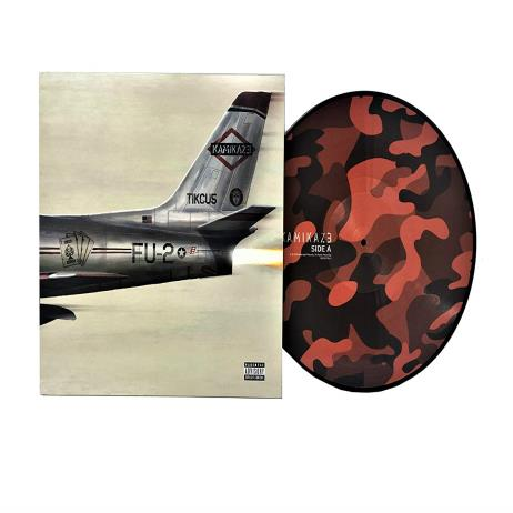 Kamikaze [180g Red Camouflage Color LP, Limited Edition, Gatefold]