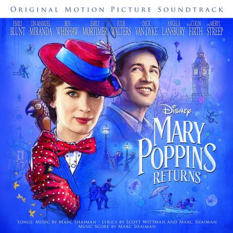 Mary Poppins Returns : The Songs (메리 포핀스 리턴즈) O.S.T. [Red Color LP]