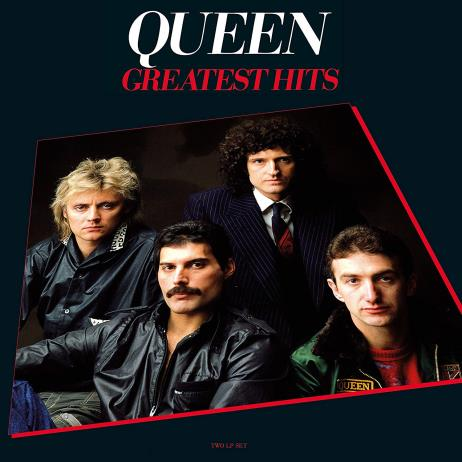 Greatest Hits: Queen [180g Red Color LP, Limited Edition, Gatefold]