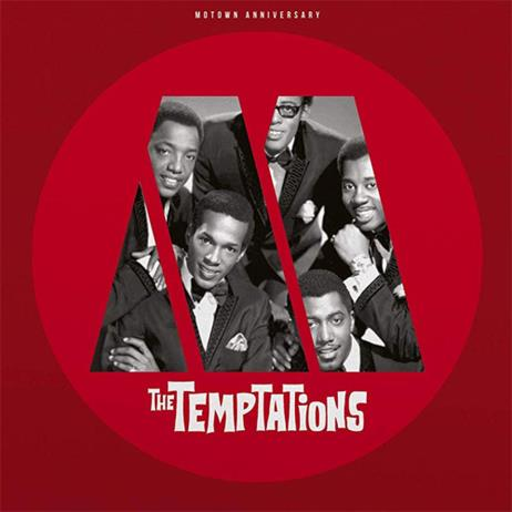 Motown Anniversary: The Temptations [Red Color LP, Limited Edition]