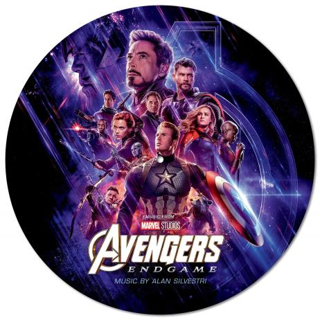 Avengers: Endgame (어벤져스: 엔드게임) O.S.T. [Picture Disc LP]