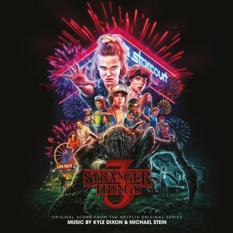 Stranger Things 3 (기묘한 이야기 3) O.S.T. [Neon Pink Color LP]