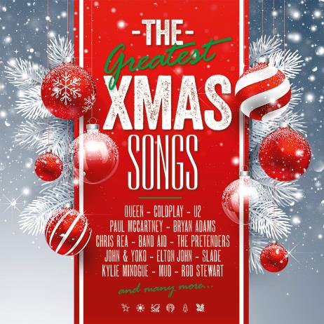 The Greatest X-Mas Songs [180g White & Red Color LP, Limited Edition]
